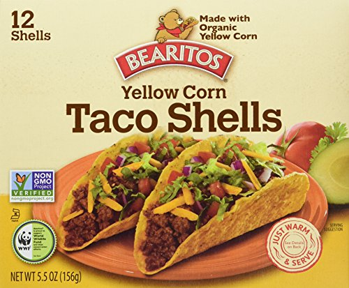 Little Bear Bearitos Yellow Corn Taco Shells, 5.5-Ounce (...