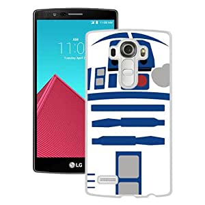 Popular LG G4 Case, Beautiful Designed Case With tar Wars R2D2 Robot White LG G4 Cover