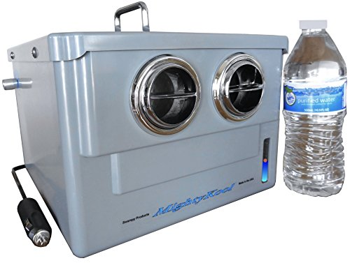 Portable Water Cooler Systems : The volt portable air conditioner k uses water to cool