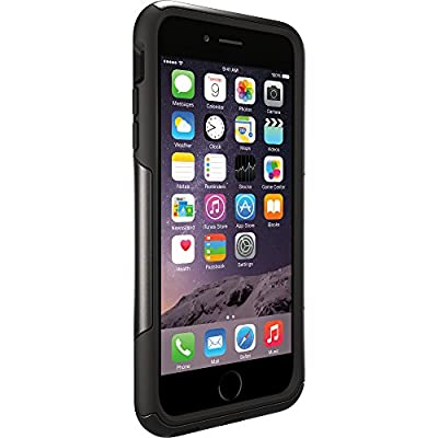"OtterBox COMMUTER SERIES Case for iPhone 6 Plus/6s Plus (5.5"" Version) - Frustration Free Packaging - BLACK by OtterBox"