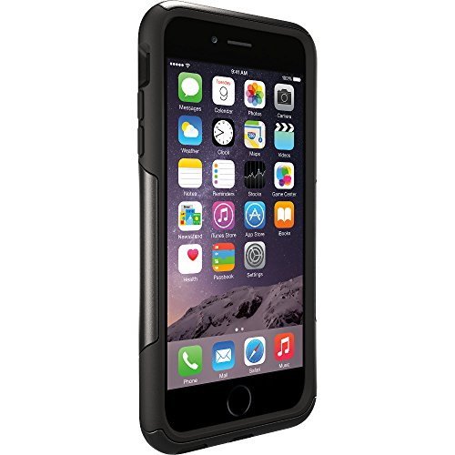 "Price comparison product image OtterBox COMMUTER SERIES Case for iPhone 6 Plus/6s Plus (5.5"" Version) - Frustration Free Packaging - BLACK"