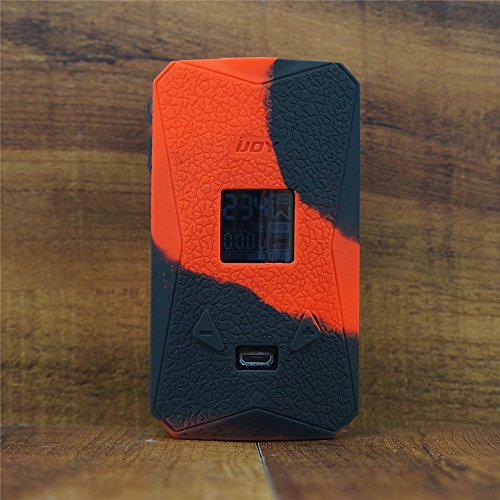 ModShield for iJoy Diamond PD270 234W TC Silicone Case ByJojo Cover Shield Sleeve Skin Wrap (Red/Black)