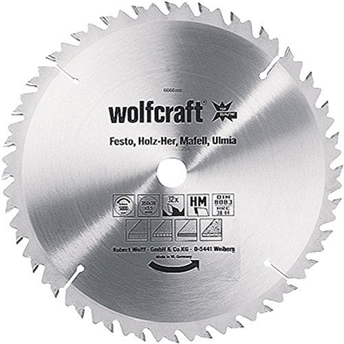 Wolfcraft HM-Tischkreissägeblätter Serie ''grün'' 250x30mm 24Z HM