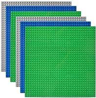 Lekebaby 6 Platten-Set Bauplatte Kompatibel mit Meisten Marken, 25*25cm