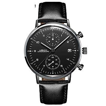 RTVDA 2018 Reloj para Hombre Estudiante Masculino Ocio Casual Reloj de Cuarzo de Moda Impermeable,