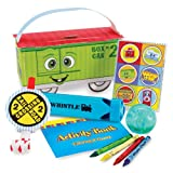 Two-Two Train 2nd Birthday Party Supplies - Filled Favor Boxes (4)