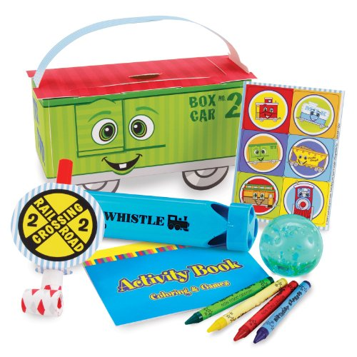 [Two-Two Train 2nd Birthday Party Supplies - Filled Favor Boxes (4)] (Chuggington Party Supplies)