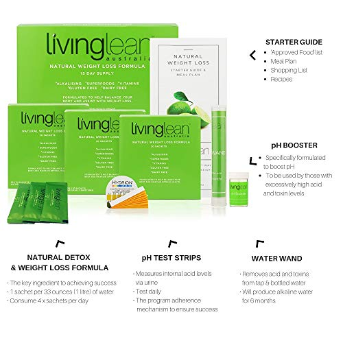 Living Lean Weight Loss Cleanse Kit for 15 Days - Natural Organic - Alkaline Your Body for Sustainable Weight Loss & Digestion Support-Colon, Kidney, Liver & Bowel Cleanser - High Strength by Living Lean (Image #3)