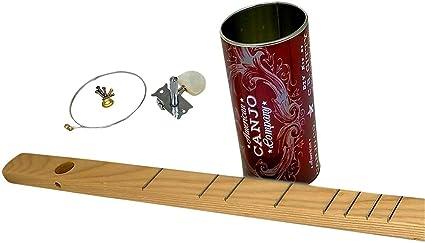 Kit de canjo de una cuerda (banjo de lata), una forma divertida y