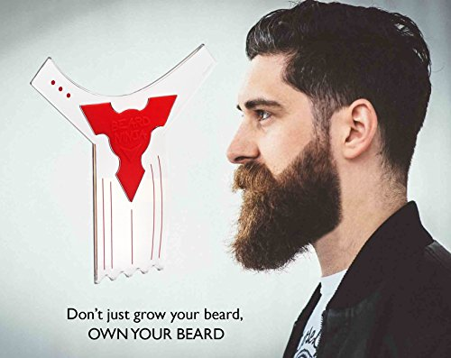 the beard ninja beard shaping tool template beard shaper guide for line up. Black Bedroom Furniture Sets. Home Design Ideas