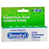Benadryl Itch Stopping Cream Extra Strength 1 oz (Pack of 3)