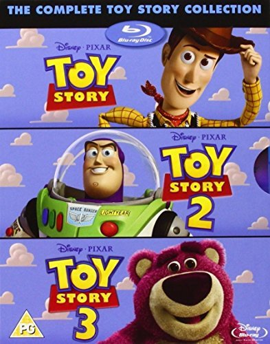 The Complete Toy Story Collection (Toy Story/Toy Story 2/Toy Story 3) (Collection 3d Toy Story)