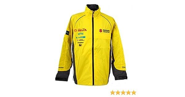 Suzuki WRC Challenge Sport World Rally Team Motorsport para Hombre Amarillo Chaqueta: Amazon.es: Deportes y aire libre