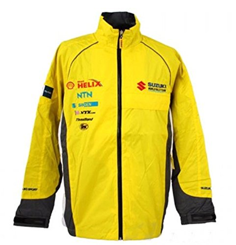 WRC Challenge Suzuki Sport World Rally Team Motorsport Herren Gelb Jacke