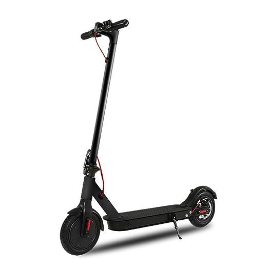 Scooter electrico Adulto, Plegable 8.5 Pulgadas 350W Carga ...
