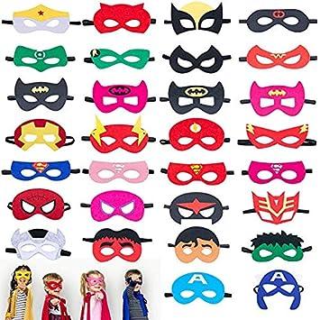 Baige Máscaras de superhéroes, Máscaras de Fiesta de ...