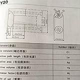 2pairs UU Shape Power Transformer ferrite core UY20 UR64 UR64/40/20 Al 3750nH/N2 Isolator ferrite Bead RF Choke ferrite MnZn PC40
