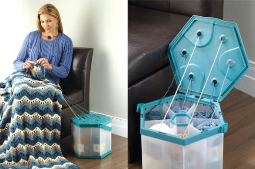 Portable Yarn Organizer