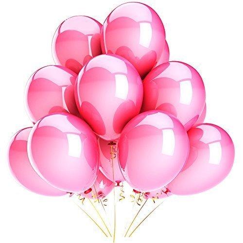 Syeer 100 pcs Balloons 10 Inch #6 Latex Kids Boy Girl Childr