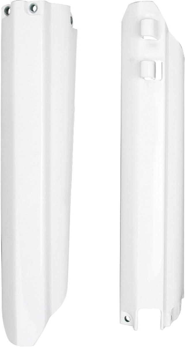 UFO Plastics Fork Protectors White for Yamaha WR YZ 96-04