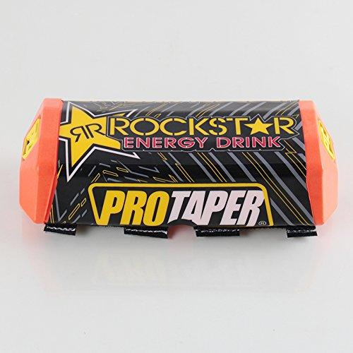 (Protaper Rockstar Handlebar Fat Bar Pad Slider Grip For Dirt Pit BikeMotorcycle Motocross Handlebar (Orange))