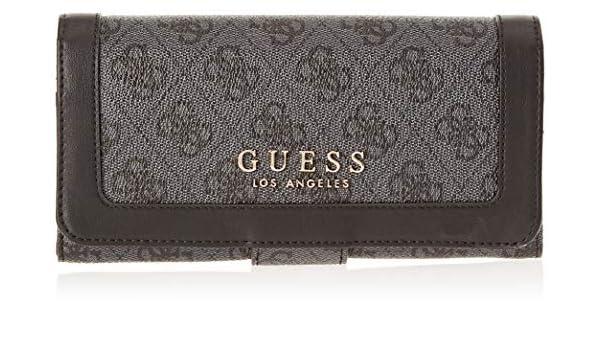 Amazon.com: Guess Florence, Womens Wallet, Black (Coal/Coa), 20x10x2 cm (W x H L): Shoes