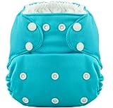 THE HERO Pocket Cloth Diaper (Aquamarine) by Coqui Baby, Health Care Stuffs
