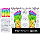 Reflexologia de PIES-Arco Iris Codificata Tabla (FOOT Reflexology CHART-Spanish) (Spanish Edition), by Inner Light Resources