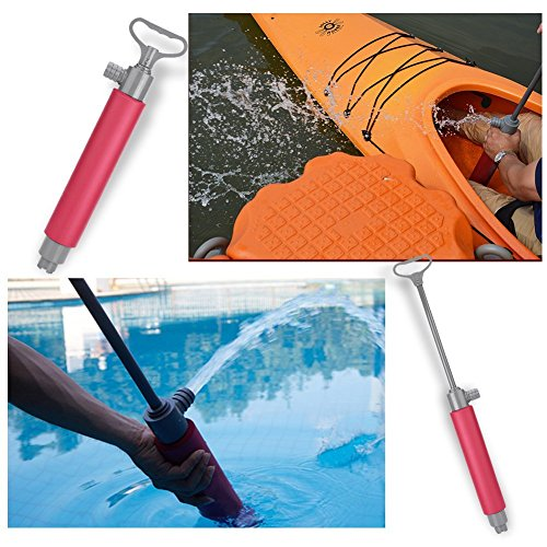 (Kayak Pump 46cm Hand Pump Floating Bilge Pump for Kayak Rescue)