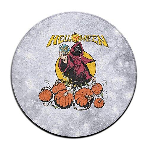 DonSir Halloween Hello Devil Home Furnishing Round Bathroom Laundry Floor NonSlip (Super Smash Bros Costumes Halloween)