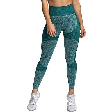 Amazon.com: GeTuo - Pantalones de yoga para mujer, sin ...