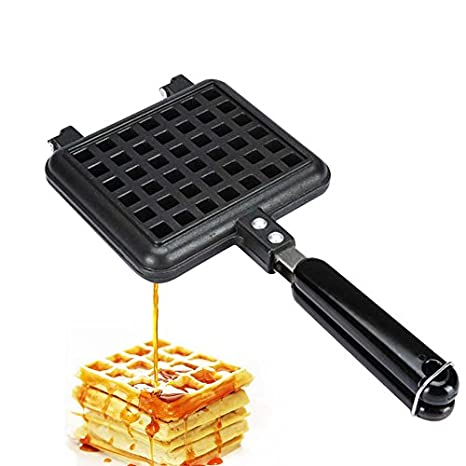 Amazon.com: Old Fashioned Waffle de molde para hornear, DIY ...