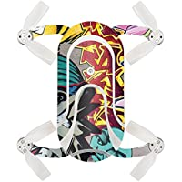 Skin For ZEROTECH Dobby Pocket Drone – Graffiti Wild Styles | MightySkins Protective, Durable, and Unique Vinyl Decal wrap cover | Easy To Apply, Remove, and Change Styles | Made in the USA