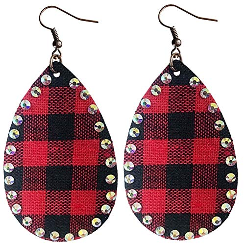Buffalo Plaid Earrings...