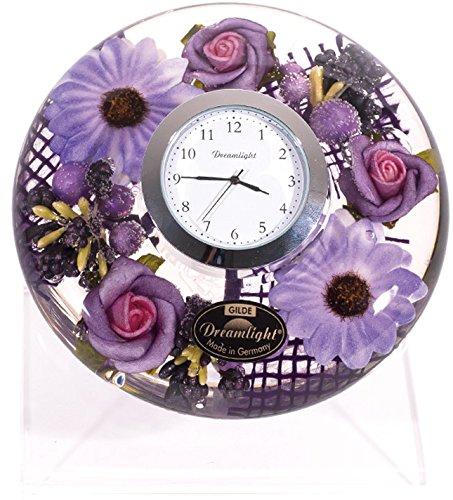Dreamlight ドリームクロックUFOミニ 時計セット(台付き) ロザリー CDD7263CL B01NBEQTBA ロザリー