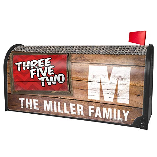 NEONBLOND Custom Mailbox Cover 352 Gainesville, FL red -