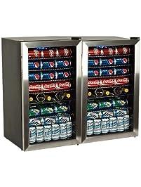 Amazon beverage refrigerators appliances edgestar bwc120ssdual planetlyrics Choice Image
