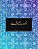 #6: Graph Paper Notebook: 1/4 inch squares   Luxury Blue & Gold Soft Cover   Large (8.5 x 11 inches) Letter Size   120 Square Grid Pages   Blank Quad Ruled Glam Notes