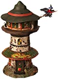 Department 56 Village Halloween Witch Way Home Tower Lit House