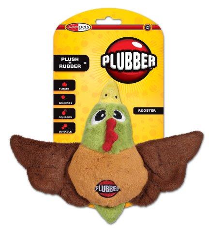 Jakks Plubber Dog Toy, Rooster, Large, My Pet Supplies