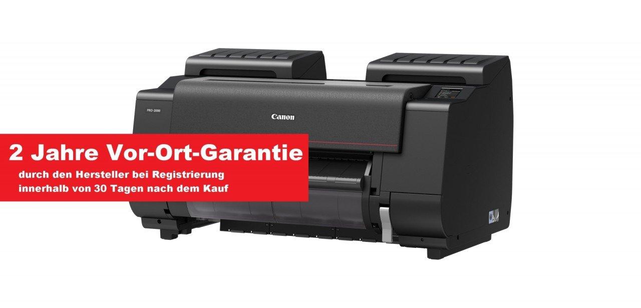 CANON imagePROGRAF Pro-2000 61 cm 60, 96 cm DIN A1 12D 1124C003