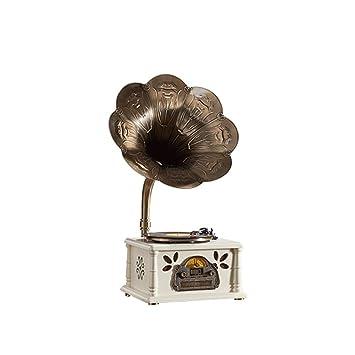 Zyy Reproductor de grabación Bluetooth Tocadiscos de 3 ...