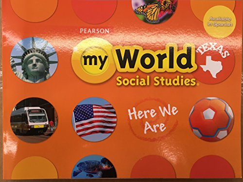 Pearson Texas - My World Social Studies - Kindergarten Workbook
