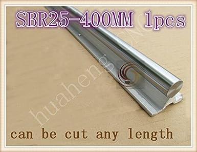 Impresora 3D - SBR25 guía lineal longitud 400 mm chapado en cromo ...