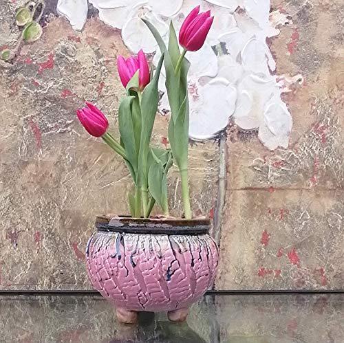 Handmade Ceramic Plant Pot with Drainage | Flower Vase Home Decor | Succulent Cactus Herb Planter 8