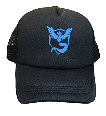 Pokemon TEAM MYSTIC Snapback Baseball CAP/ HAT