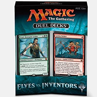 Magic the Gathering Duel Decks: Elves Vs Inventors: Toys & Games