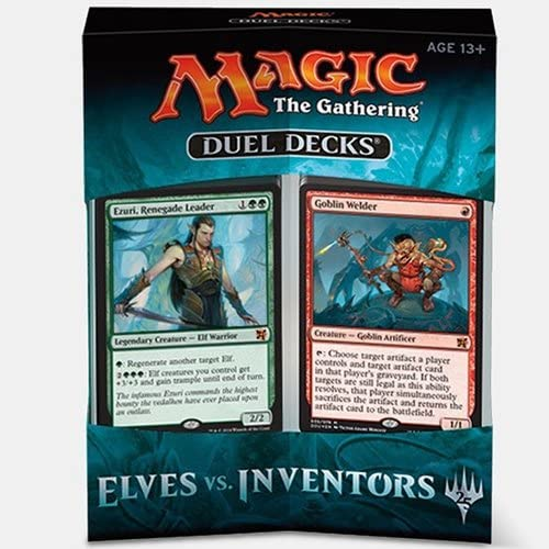 FOIL Goblin Welder ~ Duel Decks: Elves vs NearMint Magic MTG Inventors