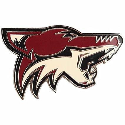 402e261064d Amazon.com : WinCraft NHL Arizona Coyotes Logo 1-inch Metal ...