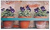 Esschert Design Flower Pots Doormat